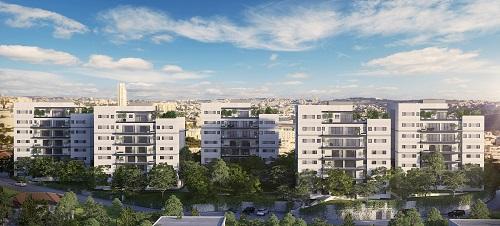 הפרויקט בקרית יובל בירושלים של חברת צברים - -Viewpoint- הדמייה (2) - Copy