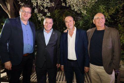 אשר אלון - רוני בריק - ראול סרוגו - ערן רולס - צילום ניב קנטור