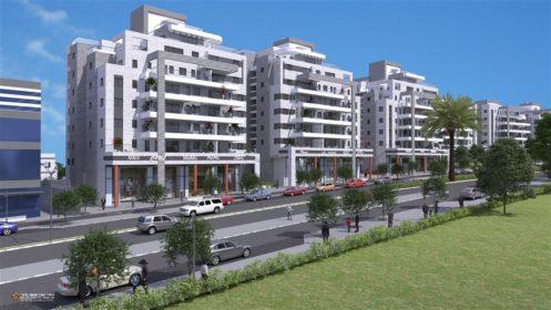 נתיב ברמה של קבוצת נתיב פיתוח ברמת בית שמש ד3 קרדיט הדמייה משרד אדריכלים לארי שטרנשיין (938 x 528)