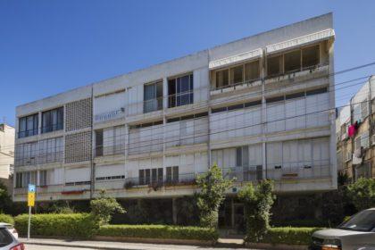 פינוי בינוי של מטרופוליס באנטוקולסקי תל אביב בניין קיים צילום אסף פינצ'וק מוקטן