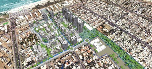 התחדשות עירונית במתחם אגש בקרית ים המקודמת על ידי קבוצת נתיב פיתוח קרדיט הדמייה גורדון אדריכלים ומתכנני ערים (933 x 427)